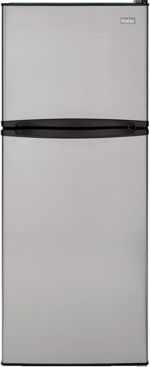 Haier 9.81 Cu. Ft. Stainless Steel Top Freezer Refrigerator-HA10TG21SS