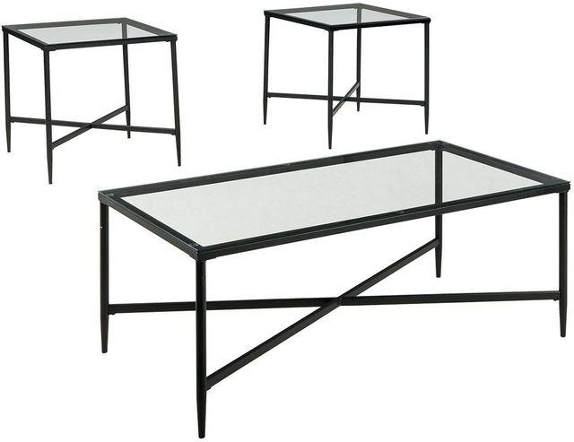 Signature Design by Ashley® Augeron Black Occasional Table Set-T003-13