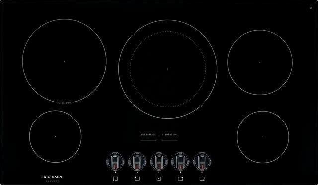 "Frigidaire Gallery® 36"" Black Electric Cooktop-FGEC3648UB"