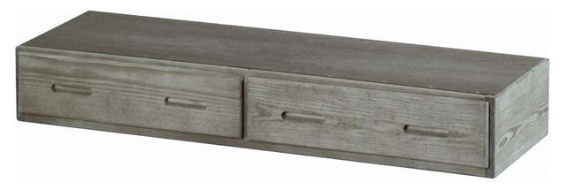 Crate Designs™ Storm Extra-long Under Bed Storage Unit-S4021