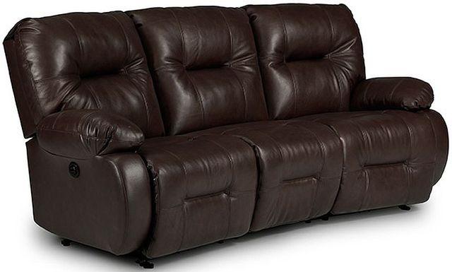 Best Home Furnishings® Brinley Leather Conversation Space Saver® Sofa-U700CA4