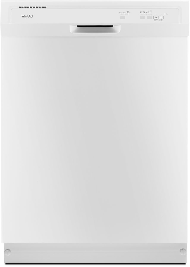 "Whirlpool® 24"" Built-In Dishwasher-White-WDF331PAHW"