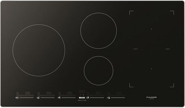 """Fulgor Milano® 700 Series 36"""" Induction Cooktop-Stainless Steel-F7IT36S1"""