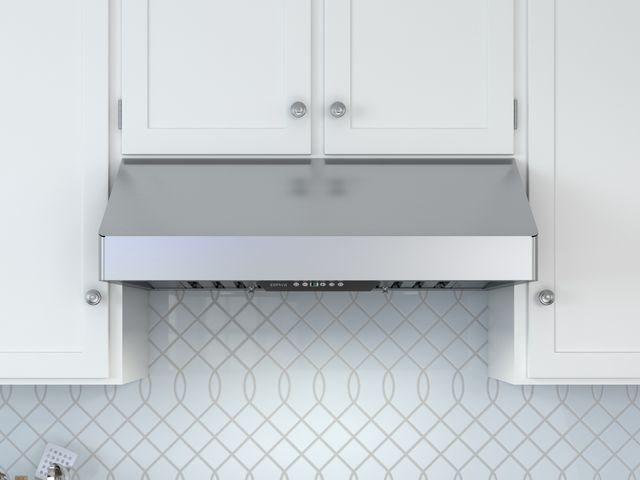 """Zephyr Pro Collection Tempest I 36"""" Pro Style Under Cabinet Hood-Stainless Steel-AK7036BS"""