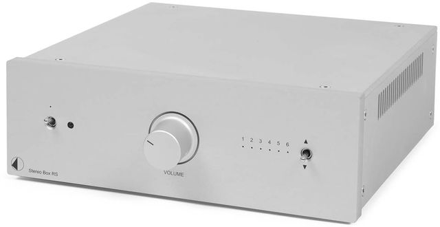 Pro-Ject RS Line Silver Box Stereo Amplifier-Stereo Box RS-SV