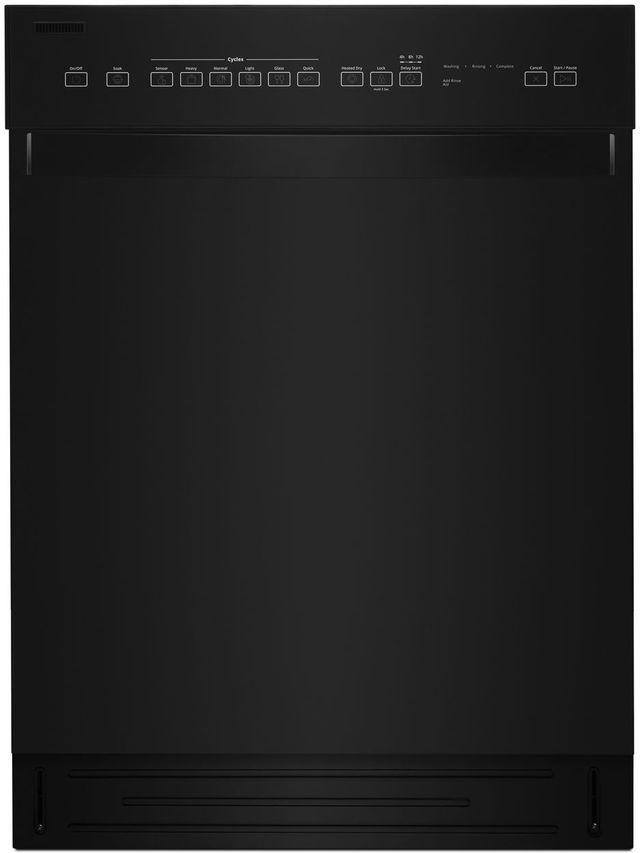 "Whirlpool® 24"" Built In Dishwasher-Black-WDF550SAHB"