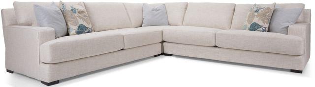 Canapé sectionnel 3 morceaux en tissu Decor-Rest®-2702-17+05+16
