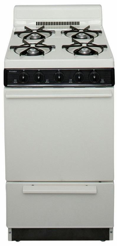 "Premier 21"" Biscuit Free Standing Gas Range-BAK100TP"