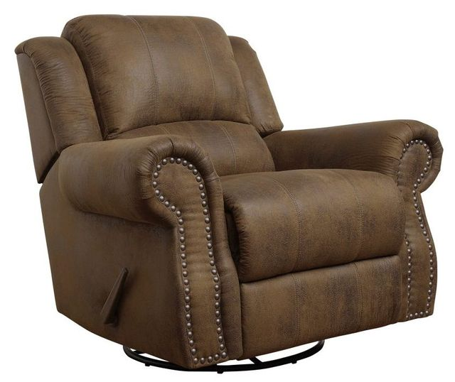 Coaster® Sir Rawlinson Buckskin Brown Swivel Rocker Recliner-650153