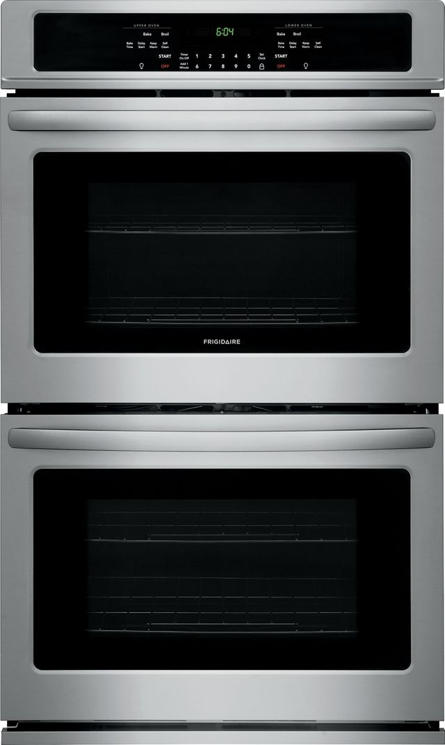 """Frigidaire® 30"""" Stainless Steel Electric Double Oven Built In-FFET3026TS"""
