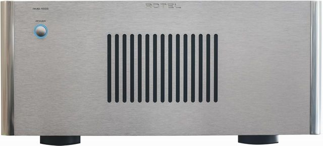 Rotel® 5 Channel Power Amplifier-Silver-RMB-1555-SV