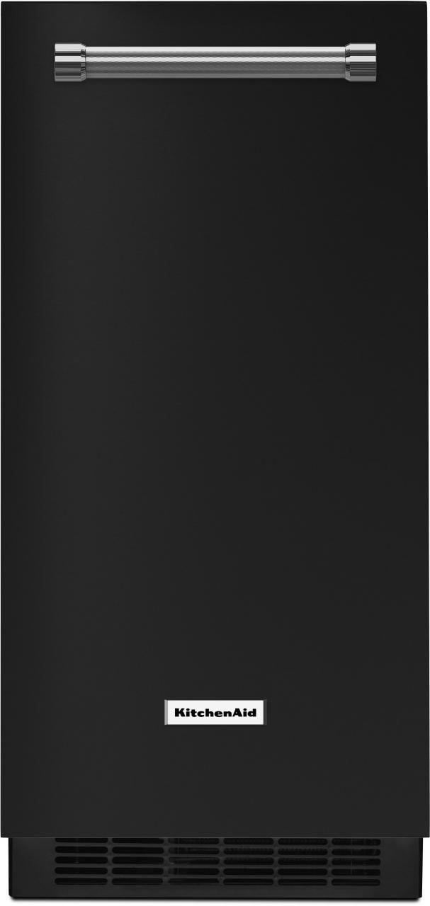 KitchenAid® 15'' Black Ice Maker-KUIX305EBL