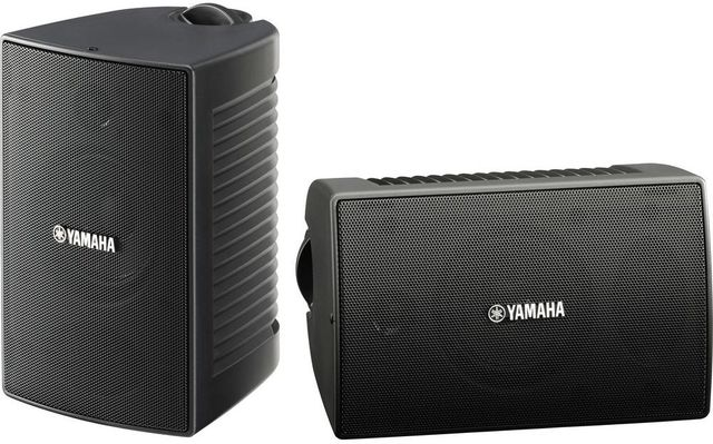 Yamaha® Black High Performance Outdoor Speakers-NS-AW194BL