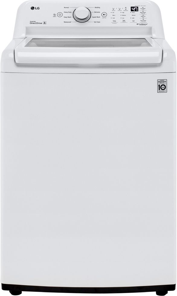 LG 4.3 Cu. Ft. White Top Load Washer-WT7005CW
