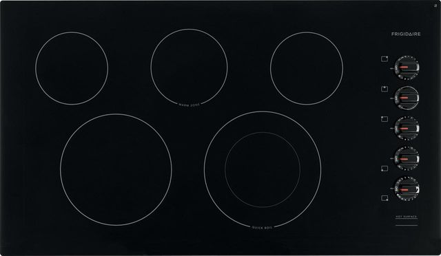"Frigidaire® 37"" Black Electric Cooktop-FFEC3625UB"
