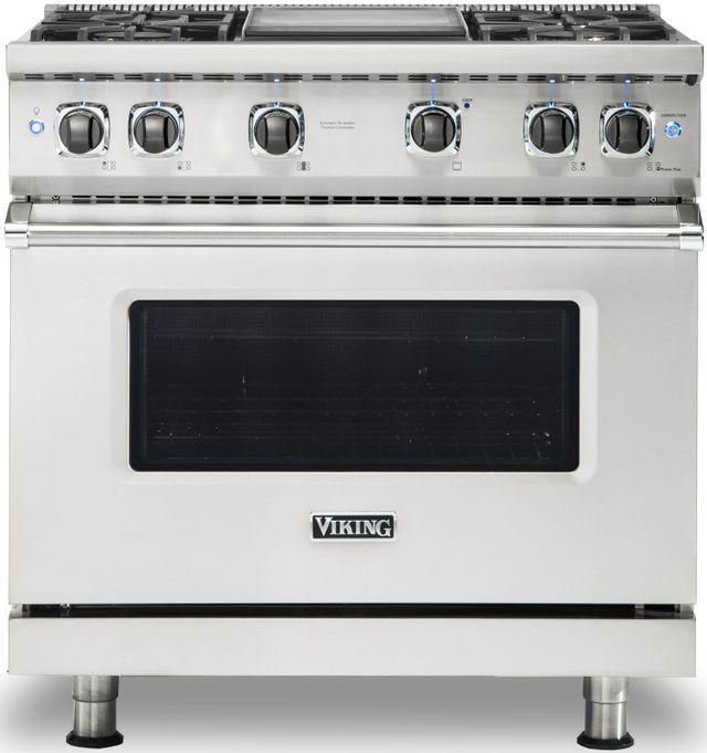 "Viking® Professional 5 Series 36"" Pro Style Gas Range-Stainless Steel-VGR5364GSSLP"