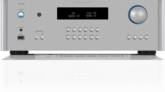 Rotel® Silver Integrated Amplifier-RA-1572-SV