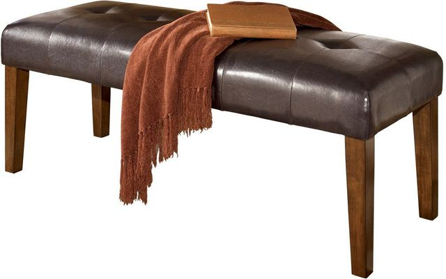 Signature Design by Ashley® Lacey Medium Brown Large Upholstered Dining Room Bench-D328-00