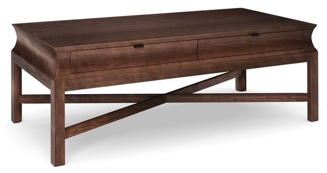 Durham Furniture Cascata Solid Accents Autumn Wind Resin Large Rectangular Cocktail Table-161-502