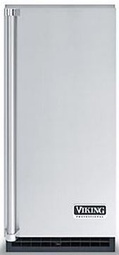 Viking® 26 Lbs. Nugget Ice Machine-Stainless Steel-FPNI515