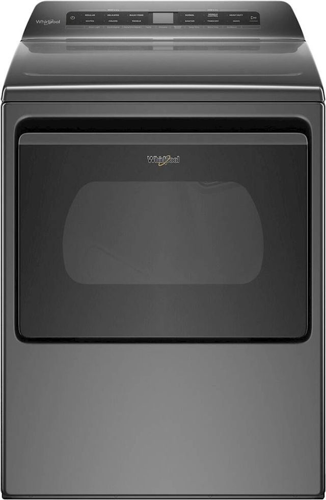 Whirlpool® 7.4 Cu. Ft. Chrome Shadow Front Load Electric Dryer-WED5100HC