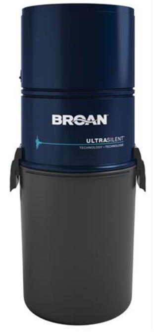 Broan® Central Vacuum with 550 Air Watts-BQ550