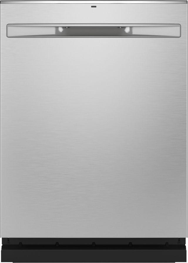 "GE® 24"" Fingerprint Resistant Stainless Steel Built In Dishwasher-GDP665SYNFS"