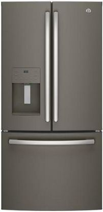 GE® Series 23.8 Cu. Ft. French Door Refrigerator-Slate-GFE24JMKES