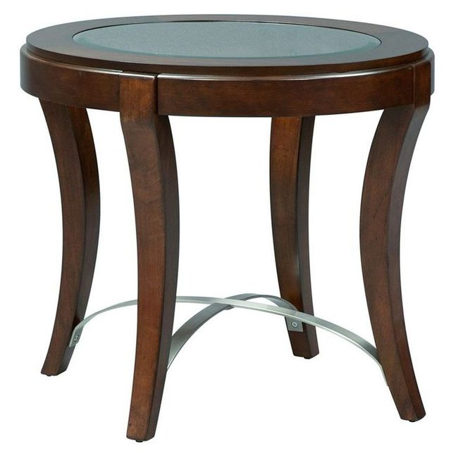 Liberty Furniture Avalon Dark Truffle End Table-505-OT2020