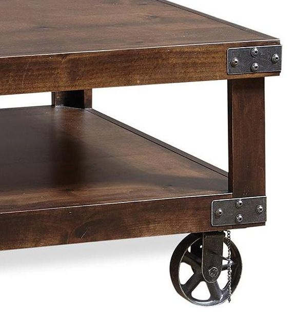 Aspenhome® Industrial Tobacco Cocktail Table-DN910-TOB