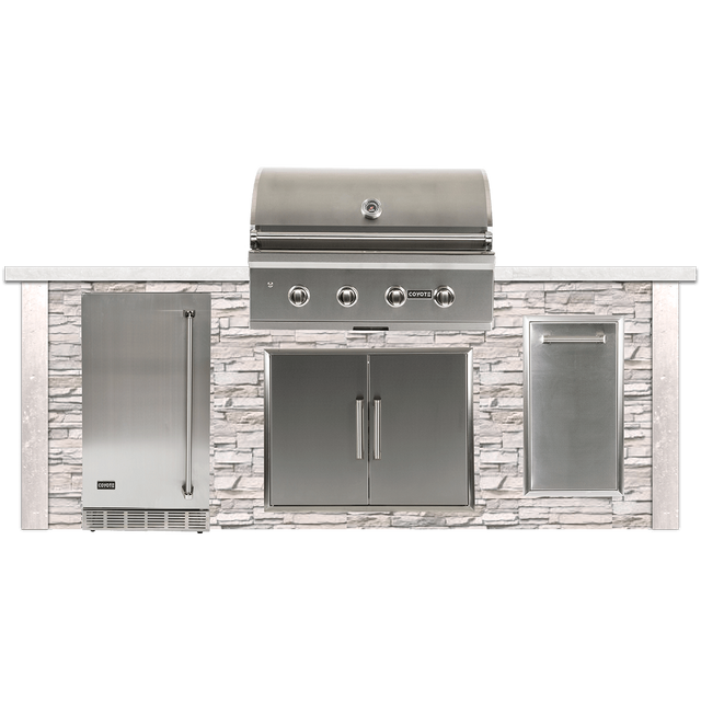 Coyote Outdoor Living 8 White Grill Island Rtac G8 Sw Teevax Home Appliance Kitchen Center Santa Rosa Ca