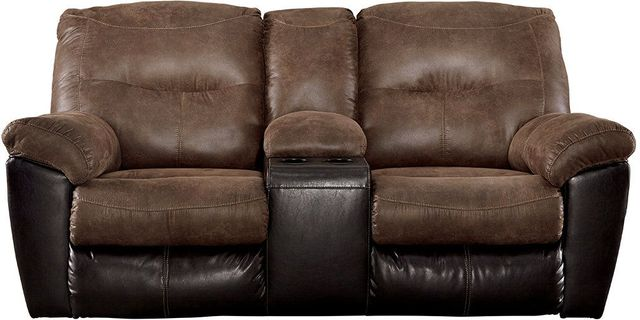 Signature Design by Ashley® Follett Double Reclining Loveseat with Console-6520294