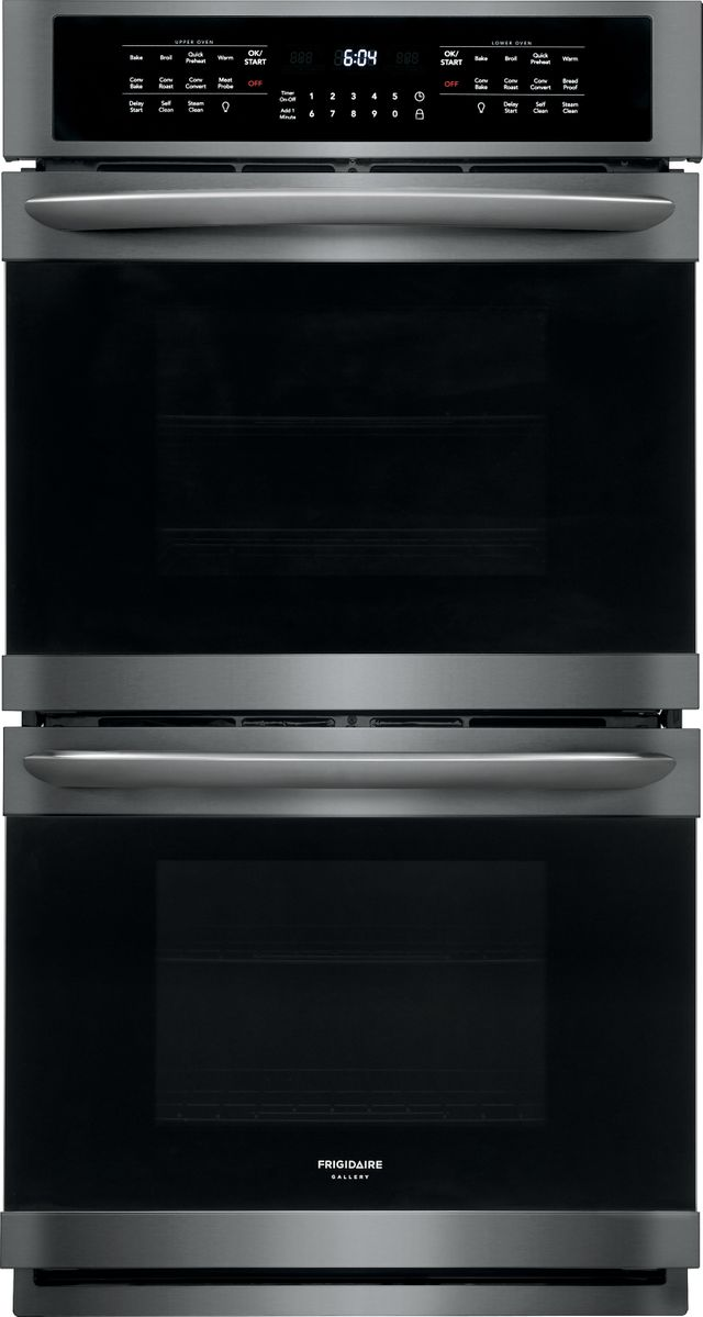 """Frigidaire Gallery® 27"""" Black Stainless Steel Electric Double Oven Built In-FGET2766UD"""