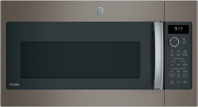 "GE Profile™ 29.88"" Slate Over The Range Microwave-PVM9179EKES"