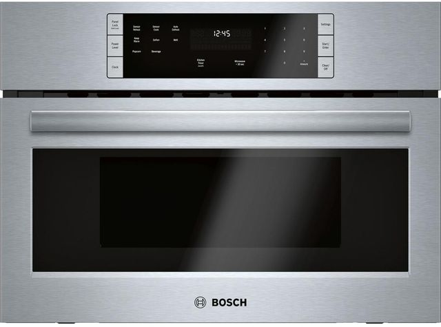 Bosch 500 Series Built In Microwave Oven-Stainless Steel-HMB57152UC