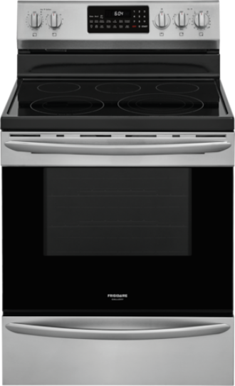 """Frigidaire Gallery® 30"""" Smudge Proof® Stainless Steel Free Standing Electric Range-GCRE306CAF"""