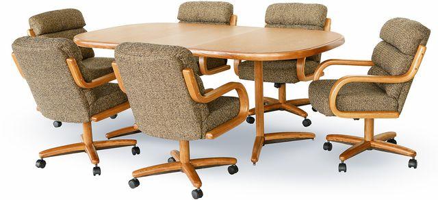 Chromcraft™ Dining Table-CD824M+C456AM
