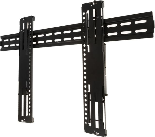 """SnapAV Strong® Razor Series Large Black Fixed Mount for 40""""-80"""" Displays-SM-RR-F-L"""