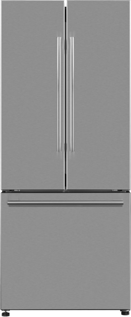 Galanz 16 Cu. Ft. Stainless Steel French Door Refrigerator-GLR16FS2E16