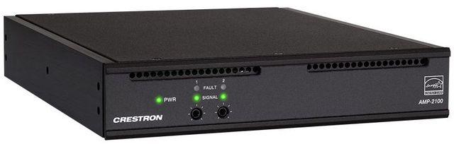 Crestron® AMP-2100-70 Dual-Channel Modular Power Amplifier-AMP-2100-70