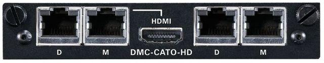 Crestron® 2-Channel DigitalMedia™ CAT Output Card-DMC-CATO-HD