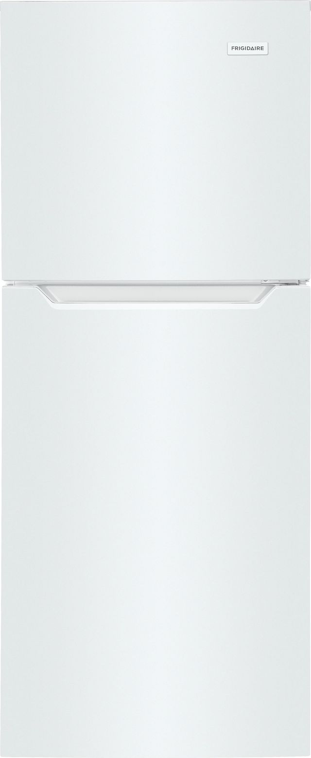 Frigidaire® 10.1 Cu. Ft. White Top Freezer Refrigerator-FFET1022UW