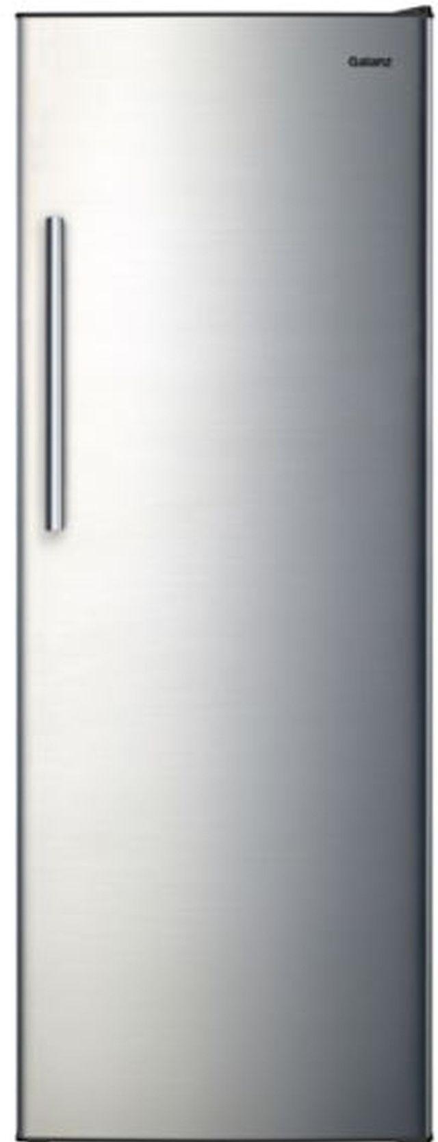 Galanz 11 Cu. Ft. Stainless Steel Upright Freezer-GLF11US2A16