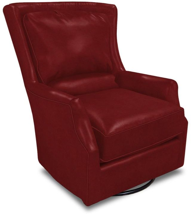 England Furniture® Louis Leather Swivel Chair-29169AL