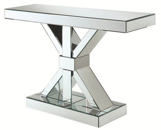 Coaster® Reventlow Mirror X-Shaped Base Console Table-950191
