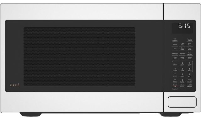 Café™ 1.5 Cu. Ft. Matte White Countertop Microwave-CEB515P4NWM