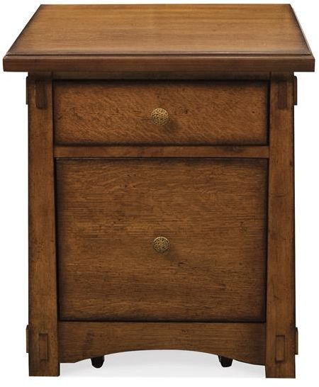 Riverside Furniture Craftsman Home Mobile File Cabinet-2935