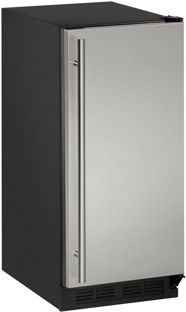 "U-Line® 1000 Series 14.94"" Stainless Steel Ice Maker-CLR1215S-00B"