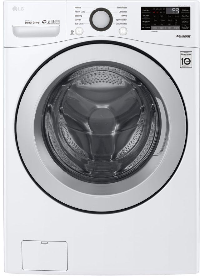 Laveuse à chargement frontal LG® de 5,2 pi³ - Blanc-WM3500CW