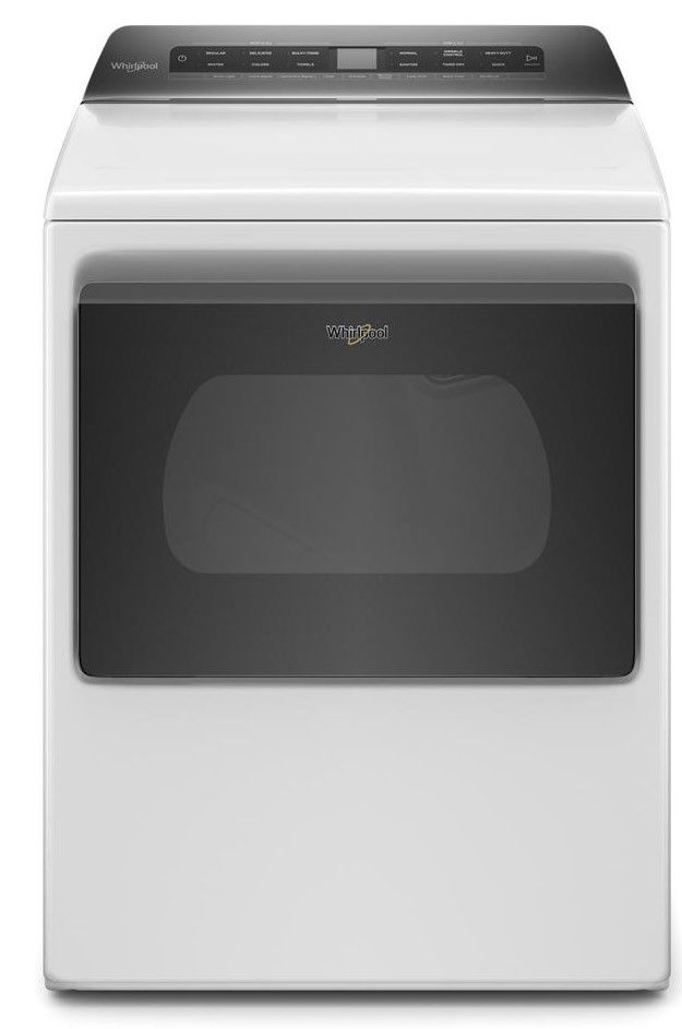 Whirlpool® 7.4 Cu. Ft. Heritage White Front Load Electric Dryer-YWED5100HW